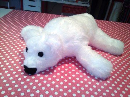 Puscheliger Eisbär, ist sooo schön geworden! So einen möchte ich auch haben...