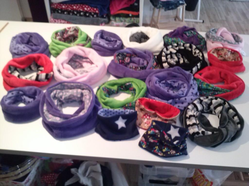 Eine Frau kann immer einen neuen Schal gebrauchen.....