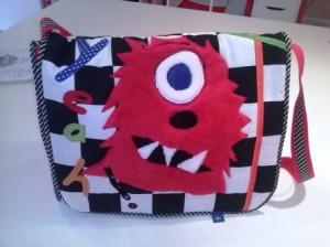 So kann z.B. eine Monster-Tasche aussehen.